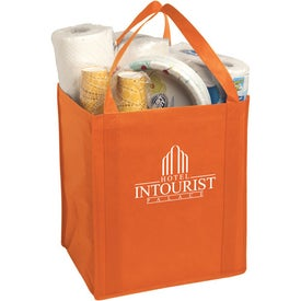 Printed Large Non-Woven Grocery Tote Bag