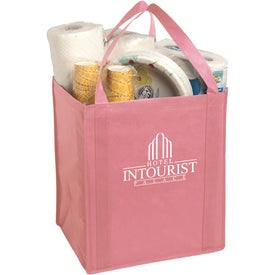 Customized Large Non-Woven Grocery Tote Bag
