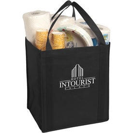 Large Non-Woven Grocery Tote Bag for Marketing