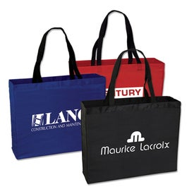 Large Polyester Tote Bag