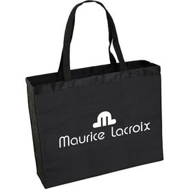 Personalized Large Polyester Tote Bag