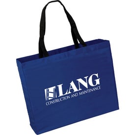 Large Polyester Tote Bag for Promotion