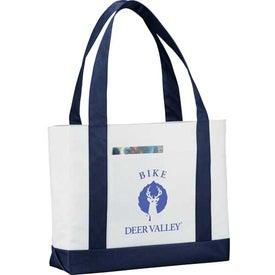 Printed Large Tote Bag