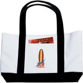 Branded Large Tote Bag
