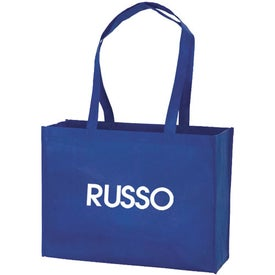 Large Customizable Tote Bag Branded with Your Logo
