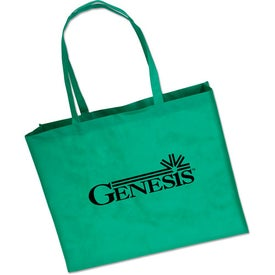 Large Polypropylene Tote Bag Imprinted with Your Logo