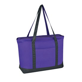 Large Value Boat Tote for your School
