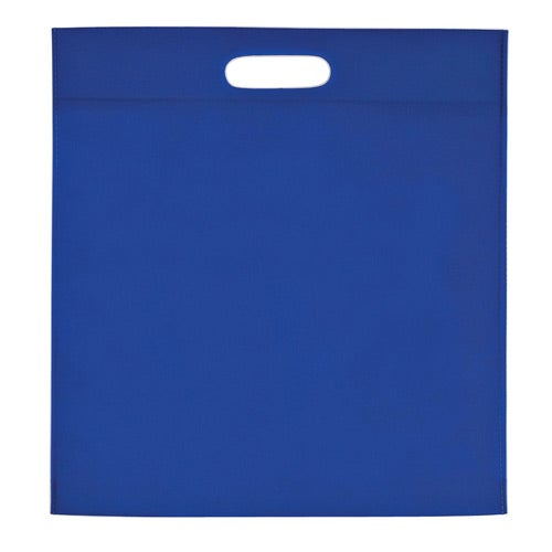 Royal Blue Large Heat Sealed Non-Woven Exhibition Tote Bag