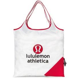 Personalized Latitudes Foldaway Shopper