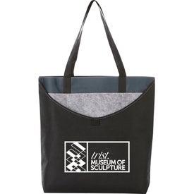 Layer Pocket Non-Woven Convention Tote Bag