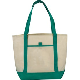 Logo The Lighthouse Boat Tote
