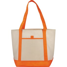 The Lighthouse Boat Tote Printed with Your Logo
