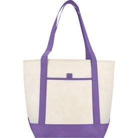 Branded The Lighthouse Boat Tote