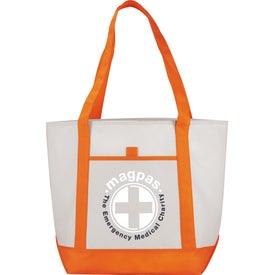 The Lighthouse Boat Tote with Your Logo