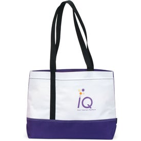 Linear Convention Tote with Your Slogan