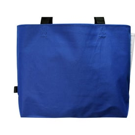Linear Convention Tote for Advertising