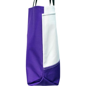 Linear Convention Tote for Marketing