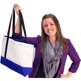 Branded Linear Convention Tote