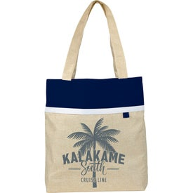 Lined Linen Tote