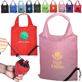 Logo Little Berry Shopper Tote Bag