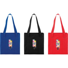 Little Grocery Collapsible Non-Woven Tote Bag
