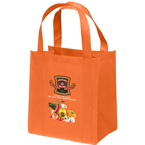 Orange Little Thunder Tote Bag