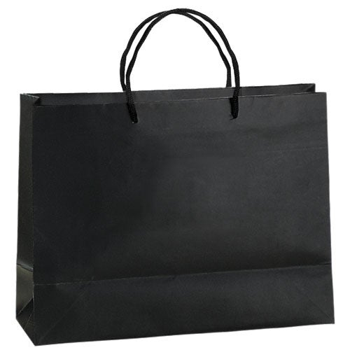 Black London Matte Eurotote Bag