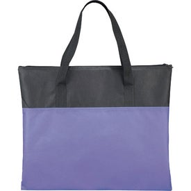 Mansfield Meeting Tote for Advertising