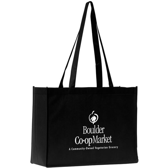 Black Mantra Polytex Large Convention Tote Bag