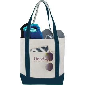 Monogrammed Marina Tote Bag