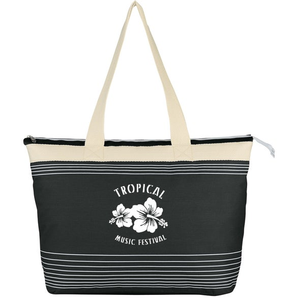 Black Marina Tote Bag