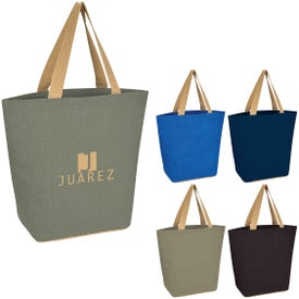 Marketplace Jute Tote Bags