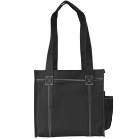 Printed Double Stitch Tote Bag