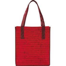 Matte Laminated Non-Woven Welcome Convention Tote Bag Branded with Your Logo