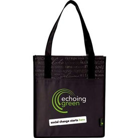 Customized Matte Laminated Non-Woven Welcome Convention Tote Bag