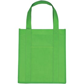 Customized Matte Laminated Non Woven Shopper Tote Bag