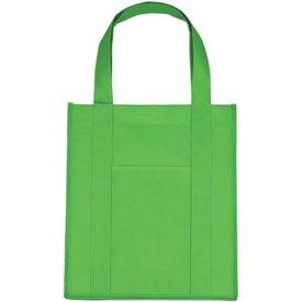 Customized Matte Laminated Non Woven Shopper Tote Bag