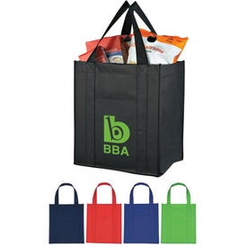 Matte Laminated Non Woven Shopper Tote Bag