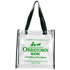 Matterhorn Clear Vinyl Stadium Compliant Tote Bag