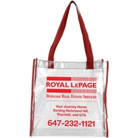 Matterhorn Clear Vinyl Stadium Compliant Tote Bag