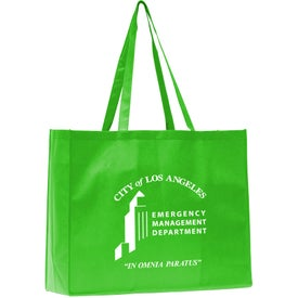 Advertising May Polytex Large Grocery Tote Bag
