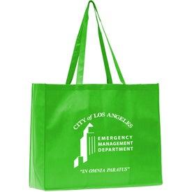 Advertising May Polytex Large Grocery Tote Bag