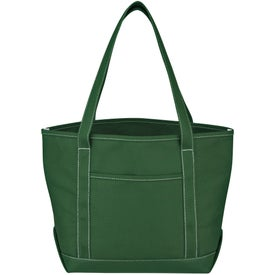 Medium Cotton Canvas Yacht Tote for Your Church