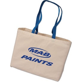 Medium Cotton Tote Bag Printed with Your Logo