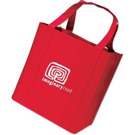 Printed Medium Grocery Tote Bag