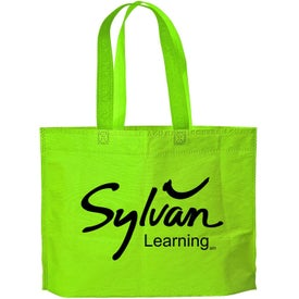 Medium Gusset Tote Bag with Your Slogan
