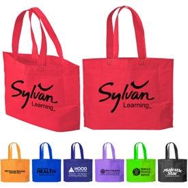 Advertising Medium Gusset Tote Bag