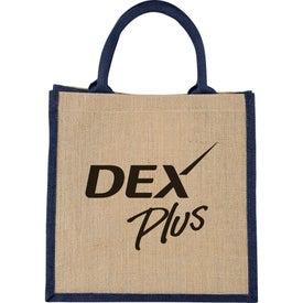 Medium Jute Gift Tote Bag