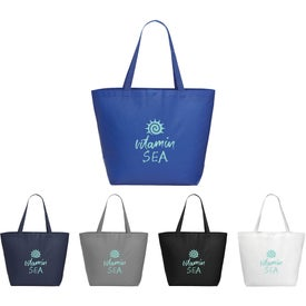 Medium Laminated Non-Woven Shopper Tote Bag