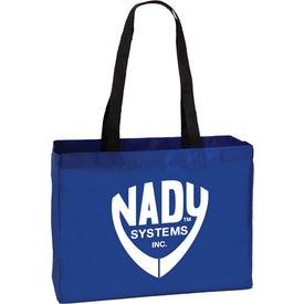 Company Medium Polyester Tote Bag
